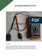 Cómo medir el consumo eléctrico de un PC