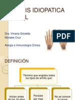 Artritis Idiopatica Juvenil Gea
