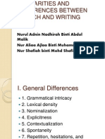 Ppt Sppech and Writing