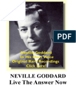 Neville Goddard PDF - Live the Answer Now
