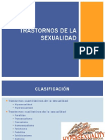 Trastornos de La Sexualidad