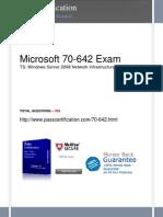 MICROSOFT-70-642-Exam