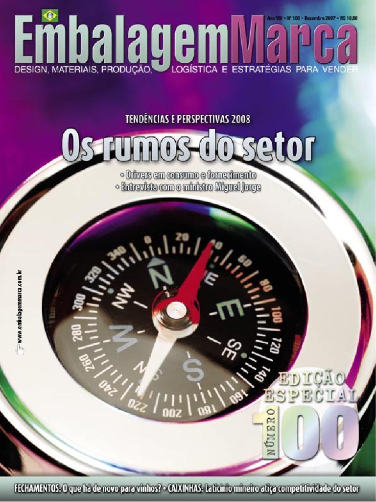 ac7ce859fe096 Revista EmbalagemMarca 100 - Dezembro 2007