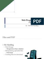 PW 02 File Handling