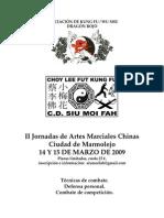 II Jornadas Artes Marciales Chinas Marmolejo [1]