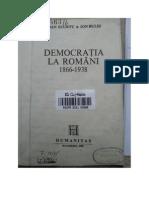 Ioan Scurtu, Democratia La Romani 1866-1938