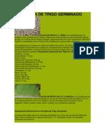 Clorofila de Trigo Germinado