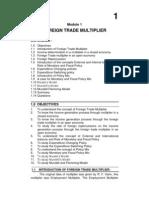 M.com. - I - Eco. of Global Trade & Finance