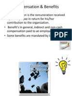 Compensation & Benefits Ppt