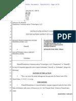 Brandywine Communications Technologies v. OM Networks d/b/a Omsoft Technologies
