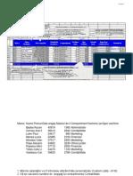 Model Stat de Plata Excel