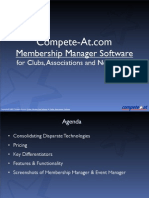 Member Software Overview