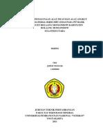 Skripsi Tambang Emas Gorontalo