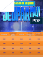 Tentative Jeopardy for Group 1