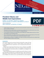 President Obama and Middle East Expectations