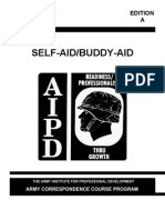 army medical self aid and buddy-aid