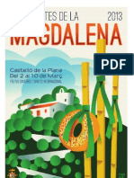 Programa Oficial Magdalena 2013