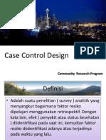Case Control Design