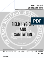 army vietnam field hygiene and sanitation