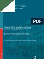 Quaderno Storia Economica 2