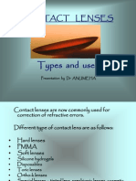 Types of Contact Lens and Uses