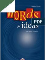 Words for Ideas - John Morley.kapak