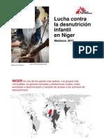 MSF-Desnutrición en Níger-2013