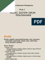 03 Model Umum Perusahaan