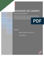Densidad de Campo