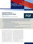 Engaging Pakistan—Getting the Balance Right