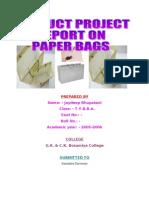 Ekta Patel - PPR - Paper Bags