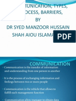 Communication[1] Dr m h Shah