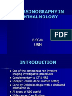 Ultrasonographty in ophthalmology