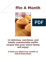 A Muffin a Month