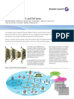 Alcatel-Lucent ISA ES14 Series Datasheet