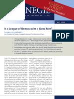 """Is a """"League of Democracies"""" a Good Idea?"""