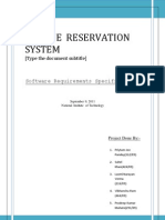 AIRLINE RESERVATION SYSTEM | Conceptual Model | Databases