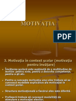 Curs10 PsihEd Motivatie M Scolara