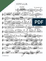 Akimenko - Idylle, Op.14 - Flute Part
