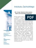 J. Kiwerska z zespołem, USA - Europa. Wyzwania, trendy, prognozy. Raport z prac nad projektem badawczym