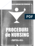 Proceduri de Nursing II