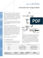 Gewater Corrosion Test Coupon