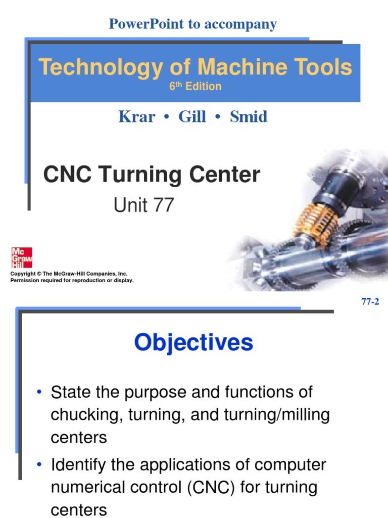 cnc turning center programming   Machining   Numerical Control