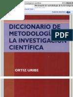 Investigacion Diccionario
