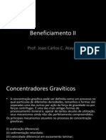 Beneficiamento II - Concentrador Gravitico