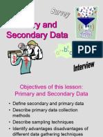 336 Primary Data