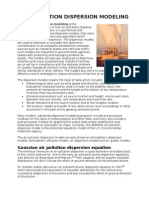 Air Pollution Dispersion Modeling