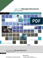 Folleto Diplomado Liderazgo Educacional E-Learning 2009