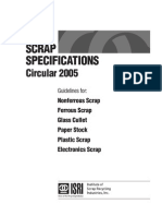 ISRI Scrap Specifications - 2005