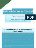 Política Hidroeléctrica Provincial